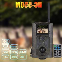 HC550M Infrared Trail Hunting Camera 1080P HD GSM MMS GPRS S