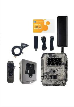 HCO Spartan trail camera 4G LTE AT&T Deluxe Deal
