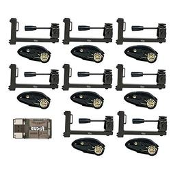 HME Products Strap-On Trail Camera Holder, 8-Pack: Uses Stra