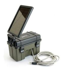 HME Trail Camera 12V/Solar Auxiliary Power Pack Waterproof B