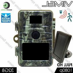 Home Security Video Camera 32GB Trail IR Outdoor Motion Activated Anti Theft