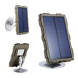 Lixada Hunting Camera Battery Solar Panel Charger External P