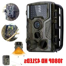 Hunting Camera HC800A 16MP 1080P HD Video Night Vision 42 LE