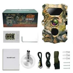 """Hunting Game Trail Camera 5MP Infrared 1080p 2.4"""" LCD PIR se"""