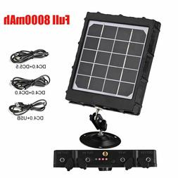 Hunting Trail Cameras Solar Panel Charger For Feeder Kit For