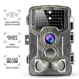 Climbose Hunting Trail Camera, 20MP 1080P HD Night Vision Hu