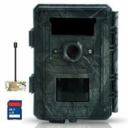 "Bestok Hunting Camera 12MP HD 120° 2.4"" LCD Trail Cam with"