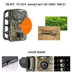 Infrared Night Vision HD 1080P IR 12MP 120° Trail Security