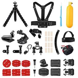 AKASO Outdoor Sports Action Camera Accessories Kit 14 in 1 f