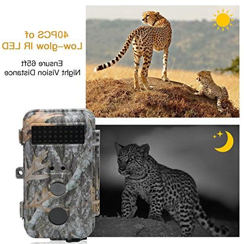 DIGITNOW Trail HD Camera LED Infrared Up /20M