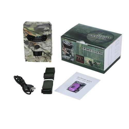 1080P 12MP Trail Scouting Infrared Night Vision