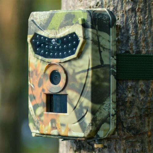 1080P HD 12MP Trail Camera Video Scouting Vision