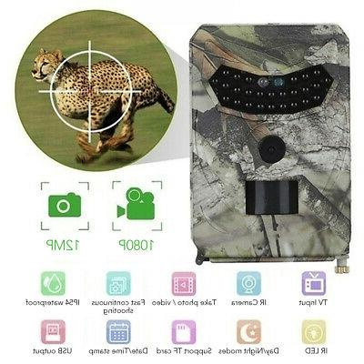12MP Hunting Game Wildlife Scouting E3C3