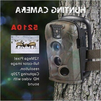 bestok 12MP 5210A IR Scouting Hunting Wildlife Trail Game se