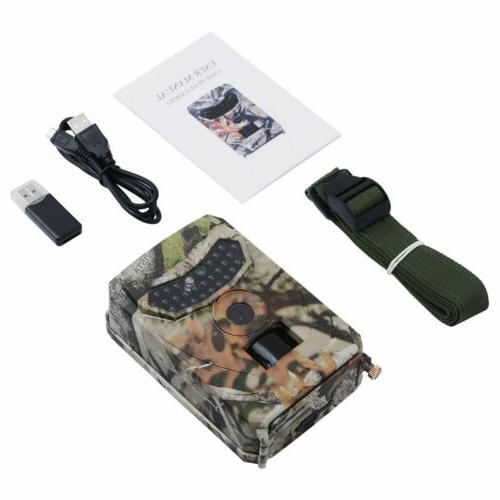 12MP Trail 1080P Night Waterproof Hunting Scouting