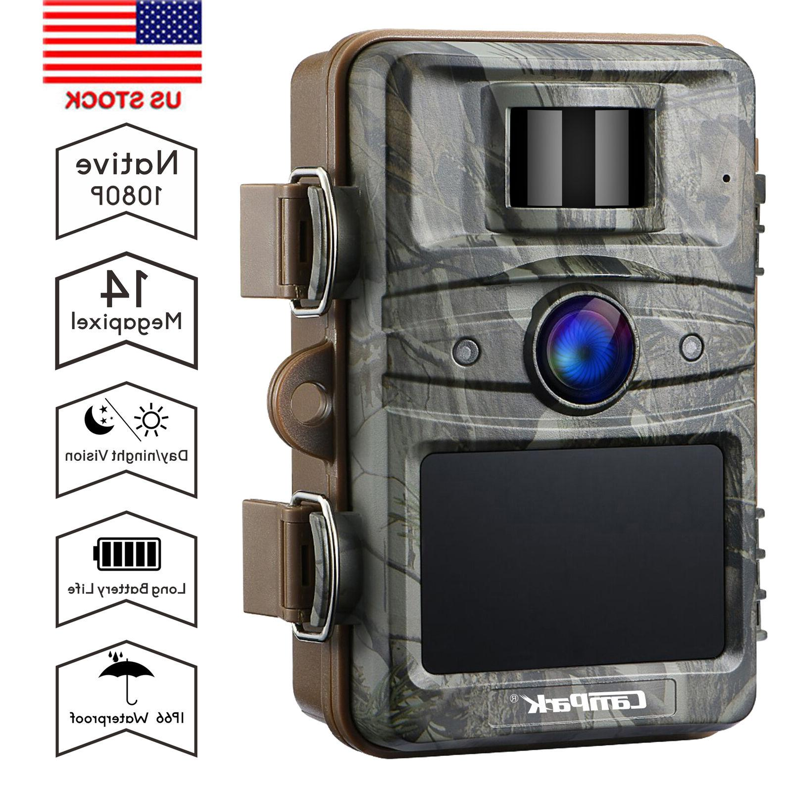 14mp 1080p hd trail game camera hunting
