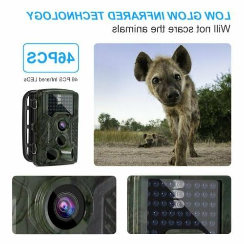 16MP Trail Waterproof Outdoor Hunting with IR Led
