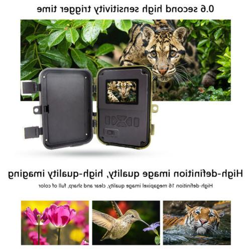 16MP Waterproof Hunting Cam with Vision
