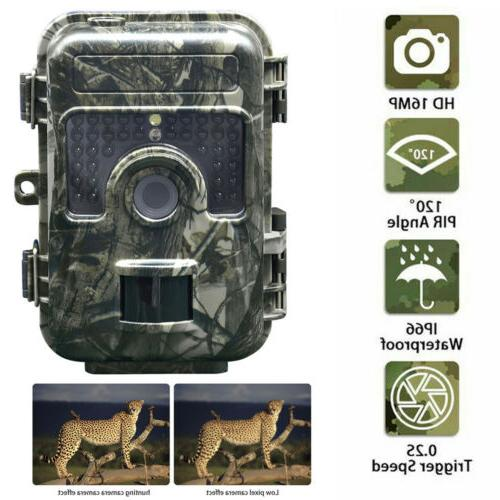 16mp trail camera ip66 waterproof outdoor hunting