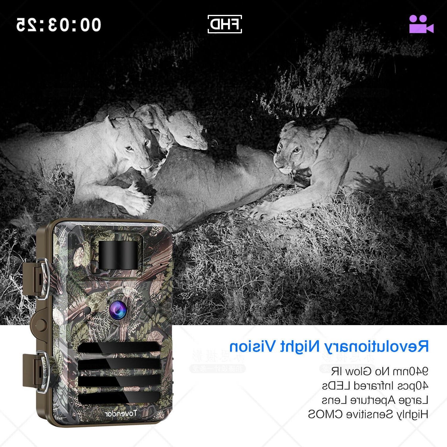 16MP Trail Waterproof Wildlife Hunting with Vision