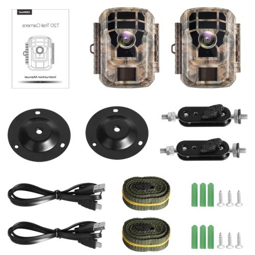 2 Pack-Campark 16MP 1080P Scouting Night