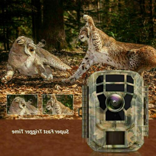 2 16MP 1080P Trail Game Scouting Cam Vision