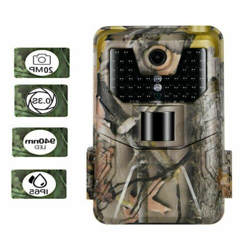 20MP 1080P Hunting Camera HC900A Infared LEDs Field Detection