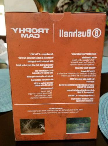 Bushnell Trail Trophy 720p HD Video Day/Night