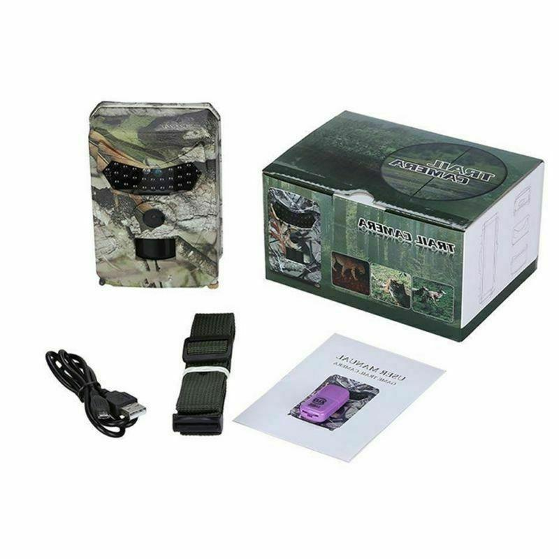 26-LED 1080P Night Vision Trail for Warehouse Hunting