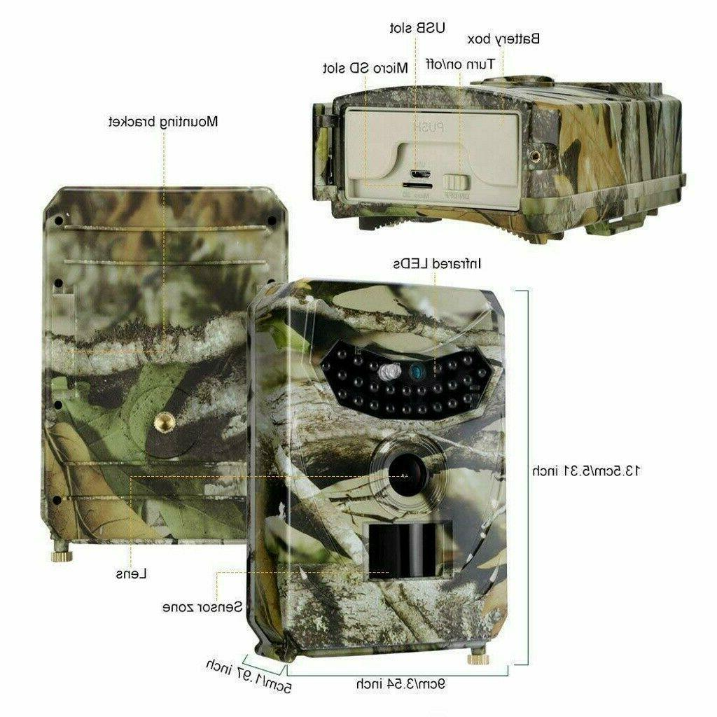26-LED Vision Trail Camera for Warehouse Hunting