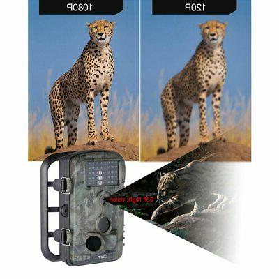 12MP Trail Camera Deer Bear Low Vision Motion Activated