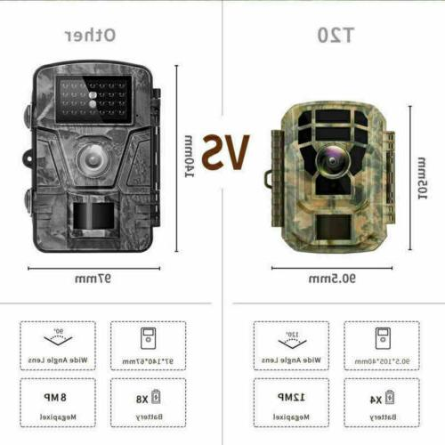 2 Pack-Campark 16MP Scouting Cam