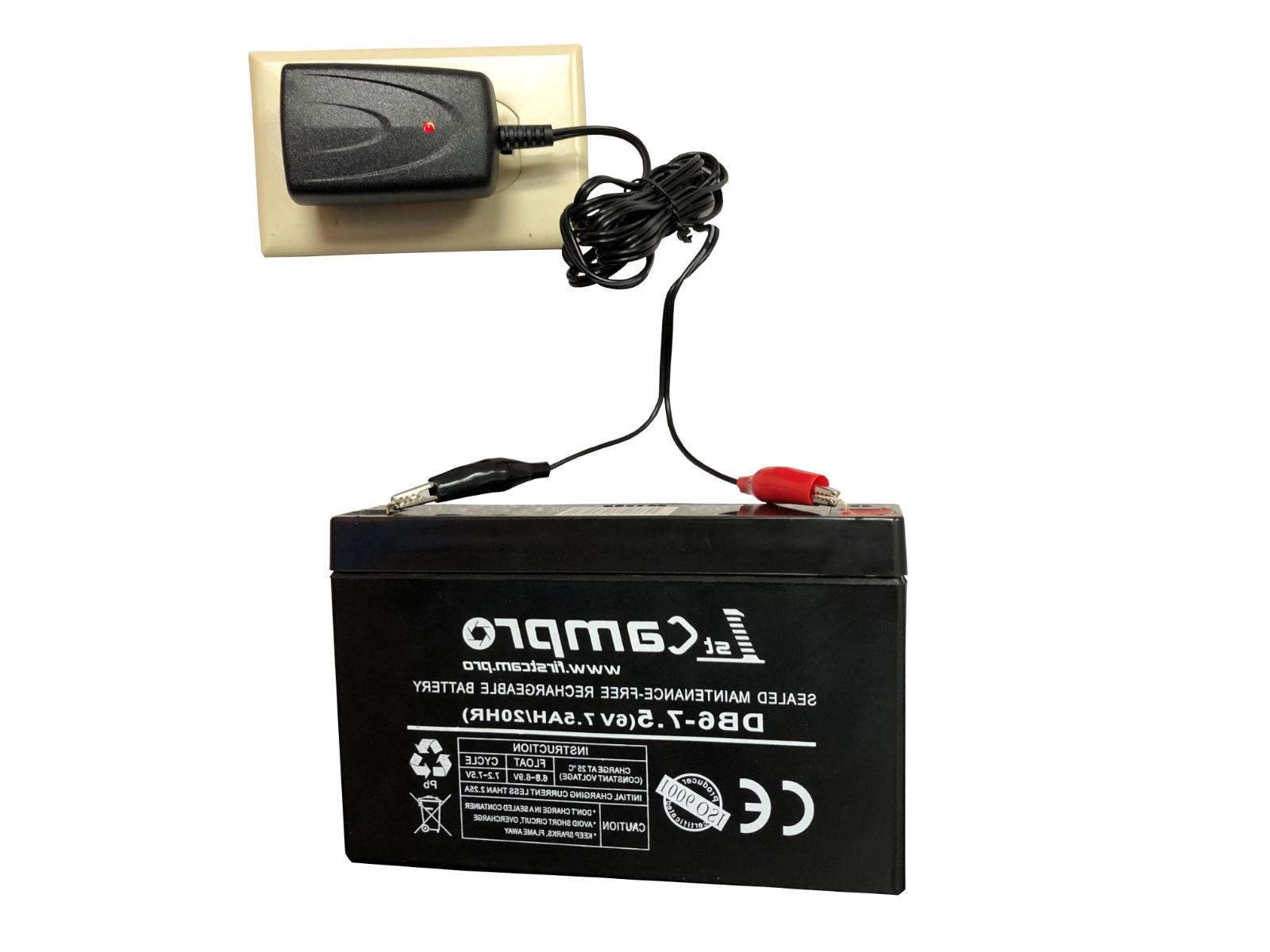 1stCamPro Power Battery, Charger, Cable- Trail Camera