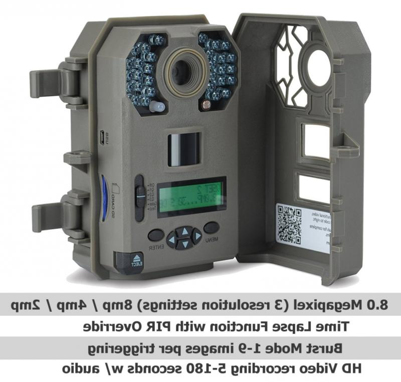 Stealth 8MP Game Camera