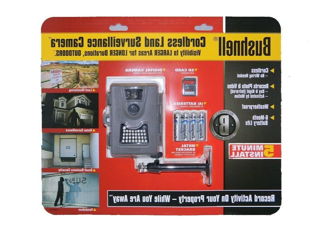 Bushnell Low Glow Game Trail Camera 6 MP 119522CL