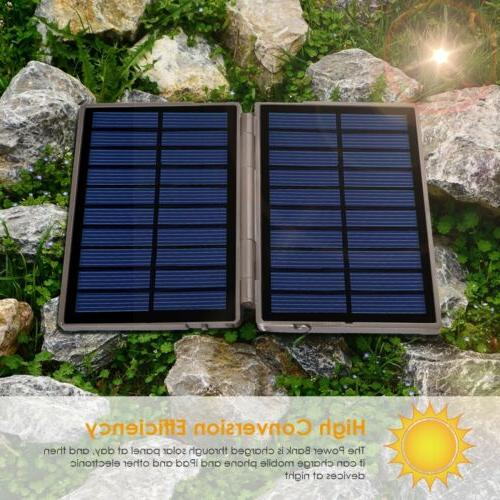 US Trail Camera Solar Panel Charger Portable Mobile power ba