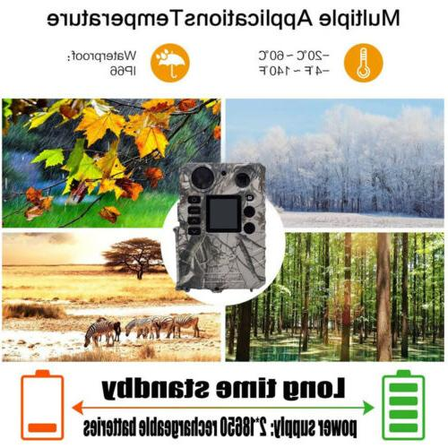 Hunting Trail Infrared no Game Cam Solar charging