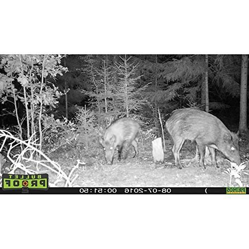 Primos Hunting Bullet 2 Low Glo HD Scouting Game Camera,