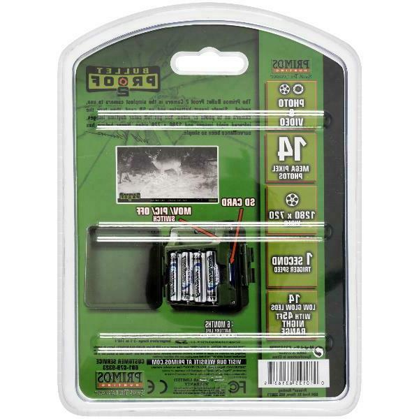 Primos Proof 2 Game Camera 14 MP Pack