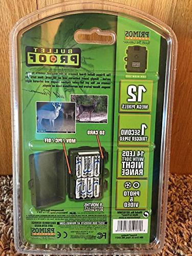 Proof 12MP Low Glow Trail Camera