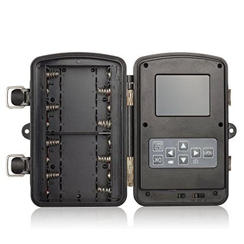 ANNKE C303 HD Game with IR Night LEDs, 2.4-Inch LCD Weatherproof Housing
