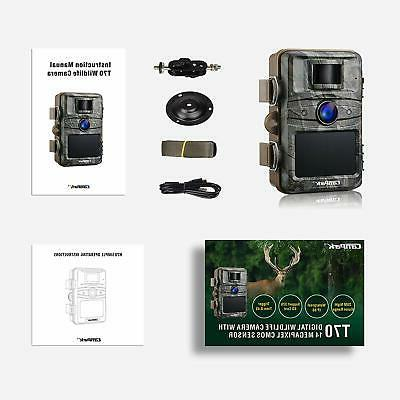 Campark Camera 1080P HD Outdoor Game Hunting Ni...
