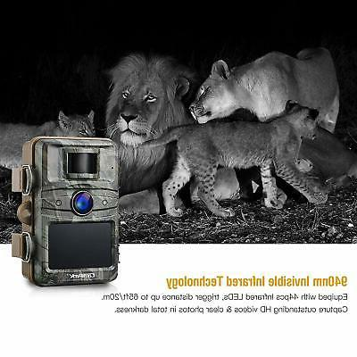 Campark 1080P HD Hunting Cam 940nm Ni...