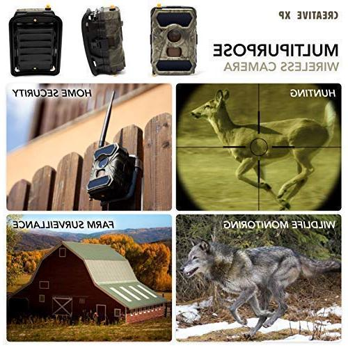 CreativeXP Cameras AT&T Camera Vision for   Wireless Waterproof and Motion Mount Included