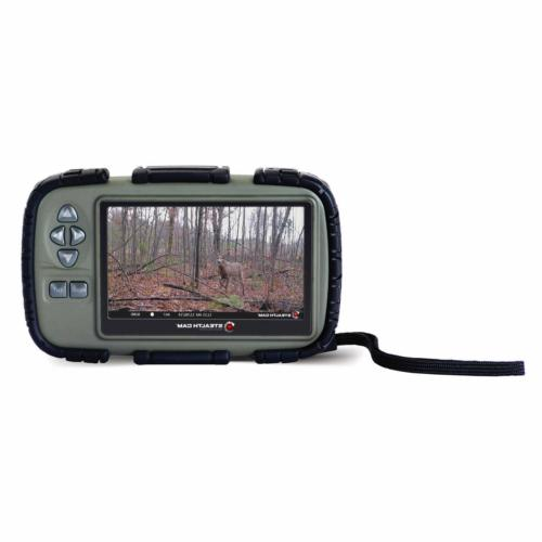 "Steal Stc Qmcr 4in1 Sd Card Reader: Stealth Cam CRV43 4.3"" LCD Screen Game Pho"