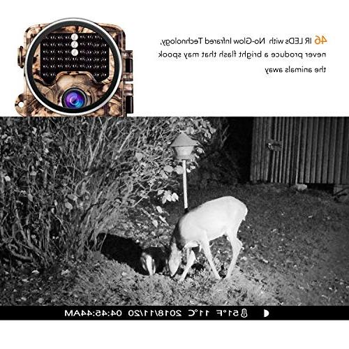 """AIMTOM 21MP Camera 0.2S Trigger Time 2.4"""" LCD 65 IR Range Trail Hunting Scouting Ghost Observation Monitor"""