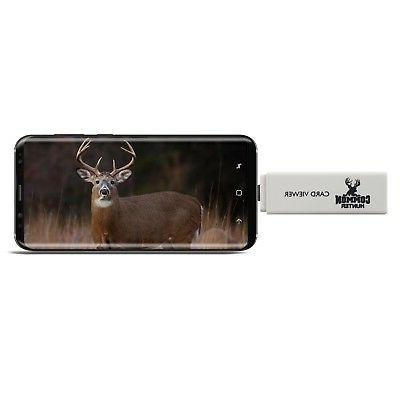 game and trail camera viewer reader