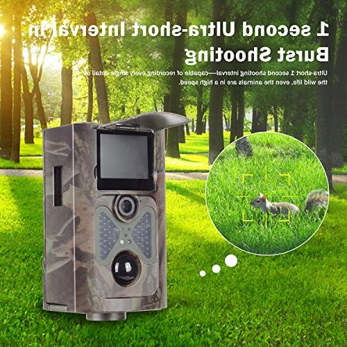 ANNKE and Wildlife Trail 1080P 48pcs LEDs Vision Scouting