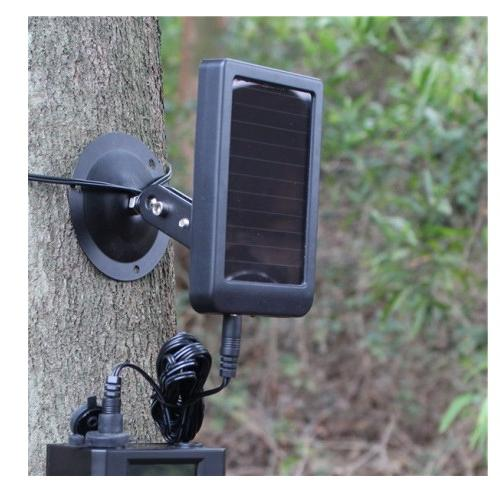 Hunting <font><b>Camera</b></font> 9V Solar Panel Charger External for <font><b>Trail</b></font> HC300 HC300M HC500G HC500M