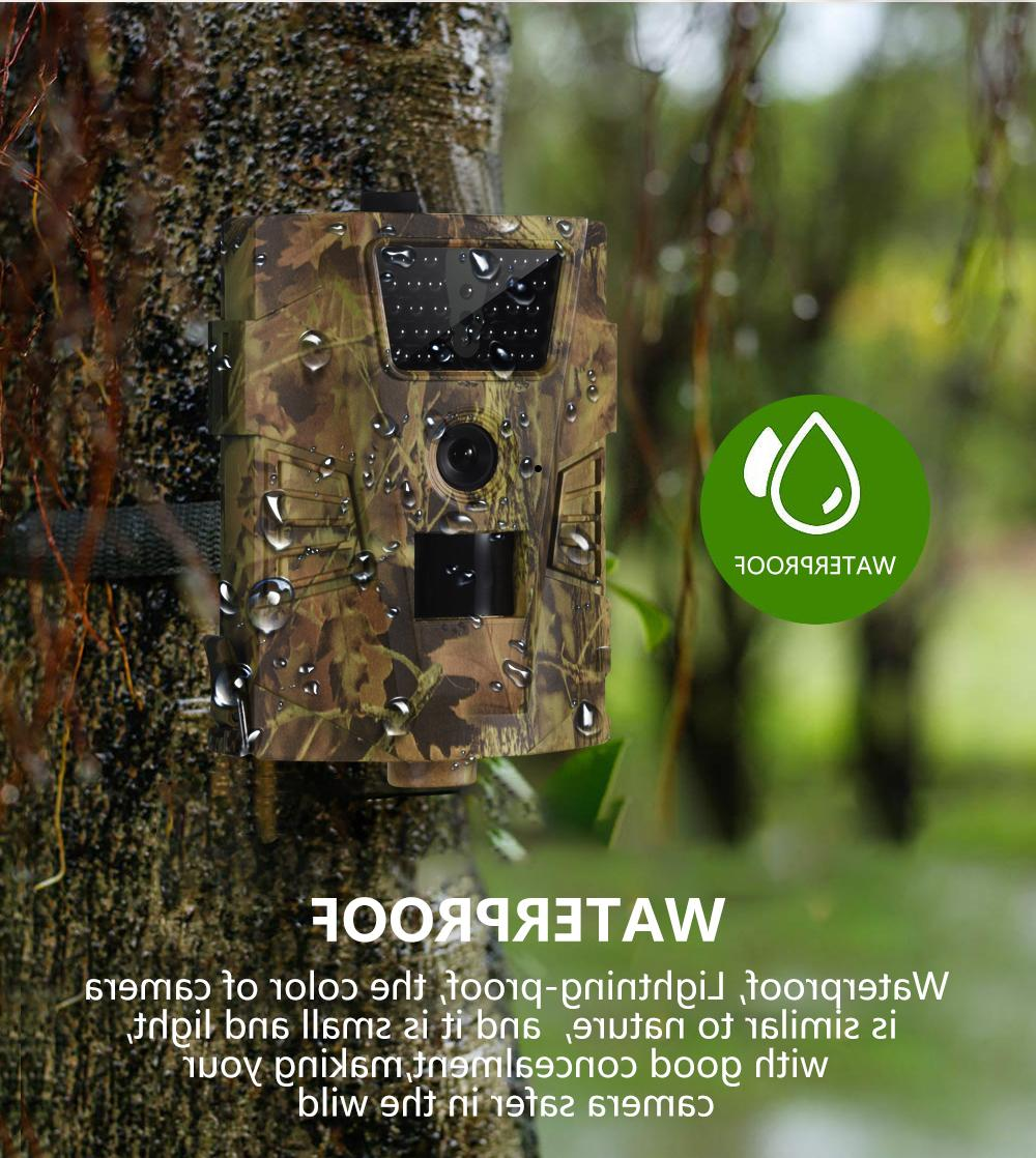 Hunting Game Outdoor Camera IR 1080P HD